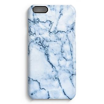 iPhone 6 Plus Full Print Case (Glossy) - Blue marble