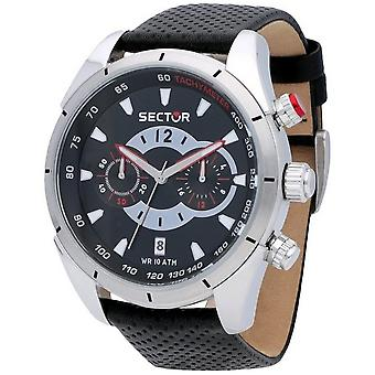 Sector watches mens watch 330 racing chronograph R3271794002