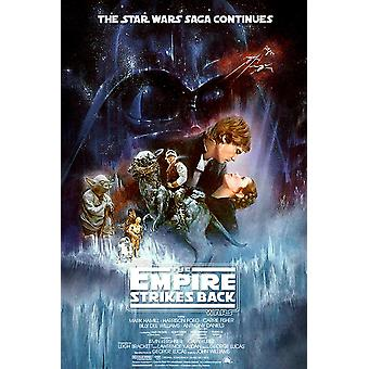 Star Wars The Empire Strikes Back Poster Movie Art Large Print (24x36)