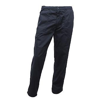 Regatta Mens New Lined Water Repellent Action Pocket Trousers (Short Leg) Navy