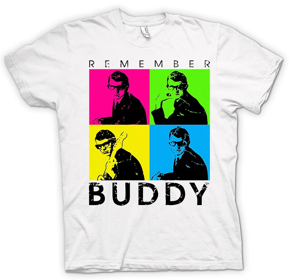 Womens T-shirt - Buddy Holly Angemeldet