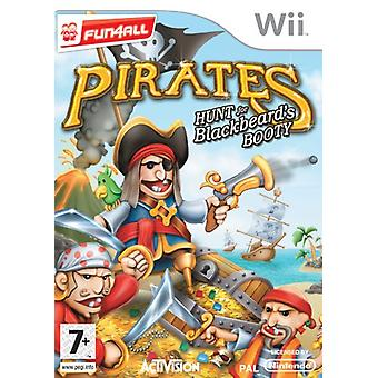 Pirates Hunt for Black Beards Booty (Wii) - Factory Sealed