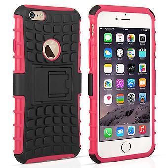 Caseflex iPhone 6s Kickstand Combo Case - Hot Pink