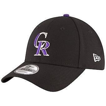 Nowa era Cap - ligi MLB Colorado Rockies czarny 9Forty