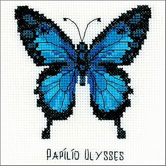 Ulysses Butterfly Counted Cross Stitch Kit-5