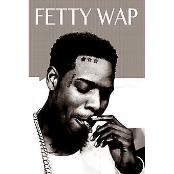 Fetty Wap Smoking Poster Poster Print