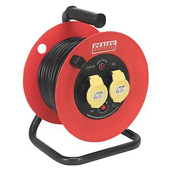 Sealey Cr12515 Cable Reel 25Mtr 2 X 110V 1.5Mm
