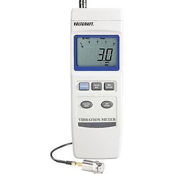VOLTCRAFT VBM-100 vibrations testare ± 5% 0,5-199.9 mm/s 0,05-19,9 cm/s 0,02-7.87 tum/s km/h