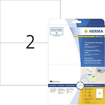 Herma 4683 Labels 210 x 148 mm Polyester film Tran