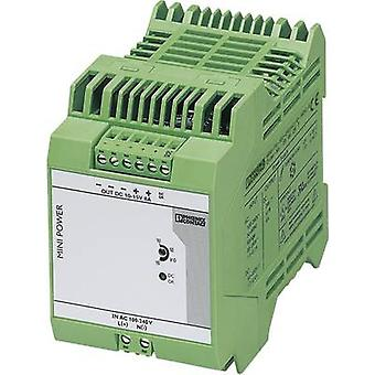 Rail mounted PSU (DIN) Phoenix Contact MINI-PS-100-240AC/10-15DC/8 8 A 96 W 1 x