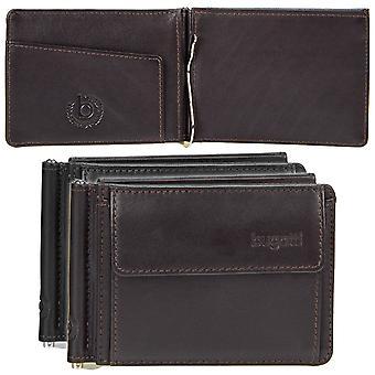 Bugatti Primo leather clip $ Clip money clip 491085