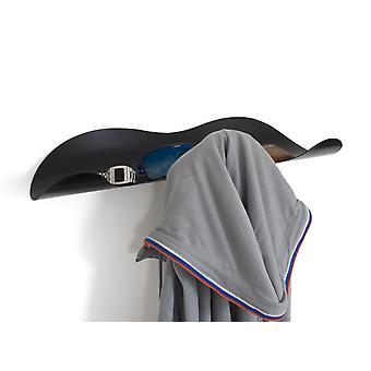 Schwarze Spitzen Coat Rack & Lagerregal von J-Me
