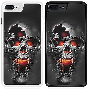 Skulls Custom Designed Printed Phone Case For Samsung Galaxy A8 2018 skull33 / White