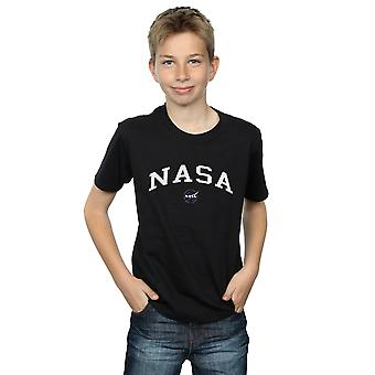 NASA Boys Collegiate Logo T-Shirt