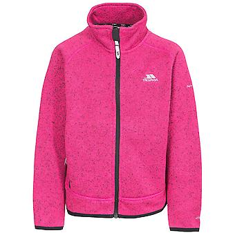 Trespass Girls Rilla Full Zip Warm Polyester Fleece Jacket Coat