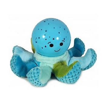Night light Blue Plush Octopus