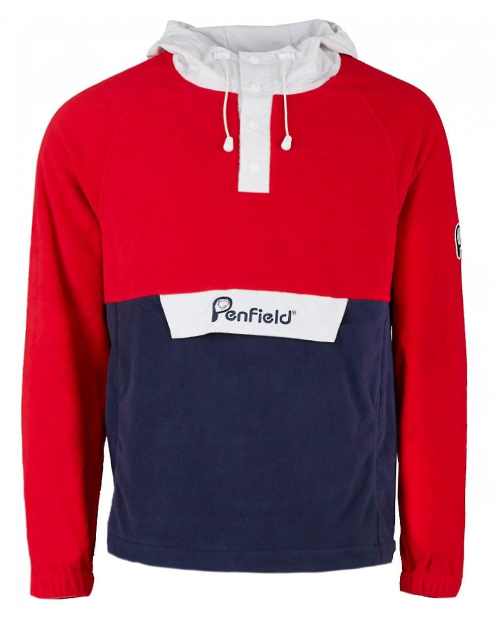 Penfield The Bear Pack Honnold Polar Hooded Popover Fleece