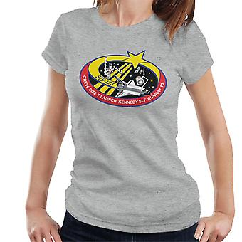 NASA STS 123 Space Shuttle Endeavour Mission Patch Women's T-Shirt