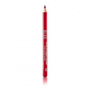 Milani Farbe Anweisung Lippenkonturenstift-02 wahre rot