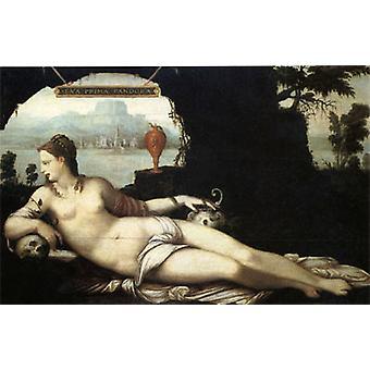 إيفا الوجاهة باندورا، جان ابن عمه الأكبر، 60 × 40 سم