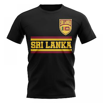 Sri Lanka Core Football Country T-Shirt (Black)