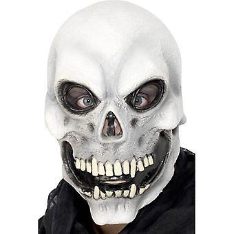 骷髅顶面面具。 一个尺寸