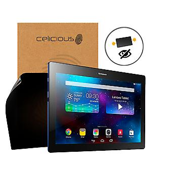 Celicious Privacy 2-Way Anti-Spy Filter Screen Protector Film Compatible with Lenovo TAB 2 A10-30