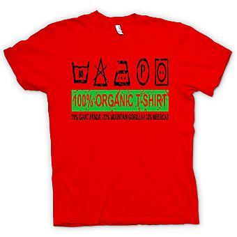 Womens T-shirt - 100% Organic T Shirt - 39% Giant Panda