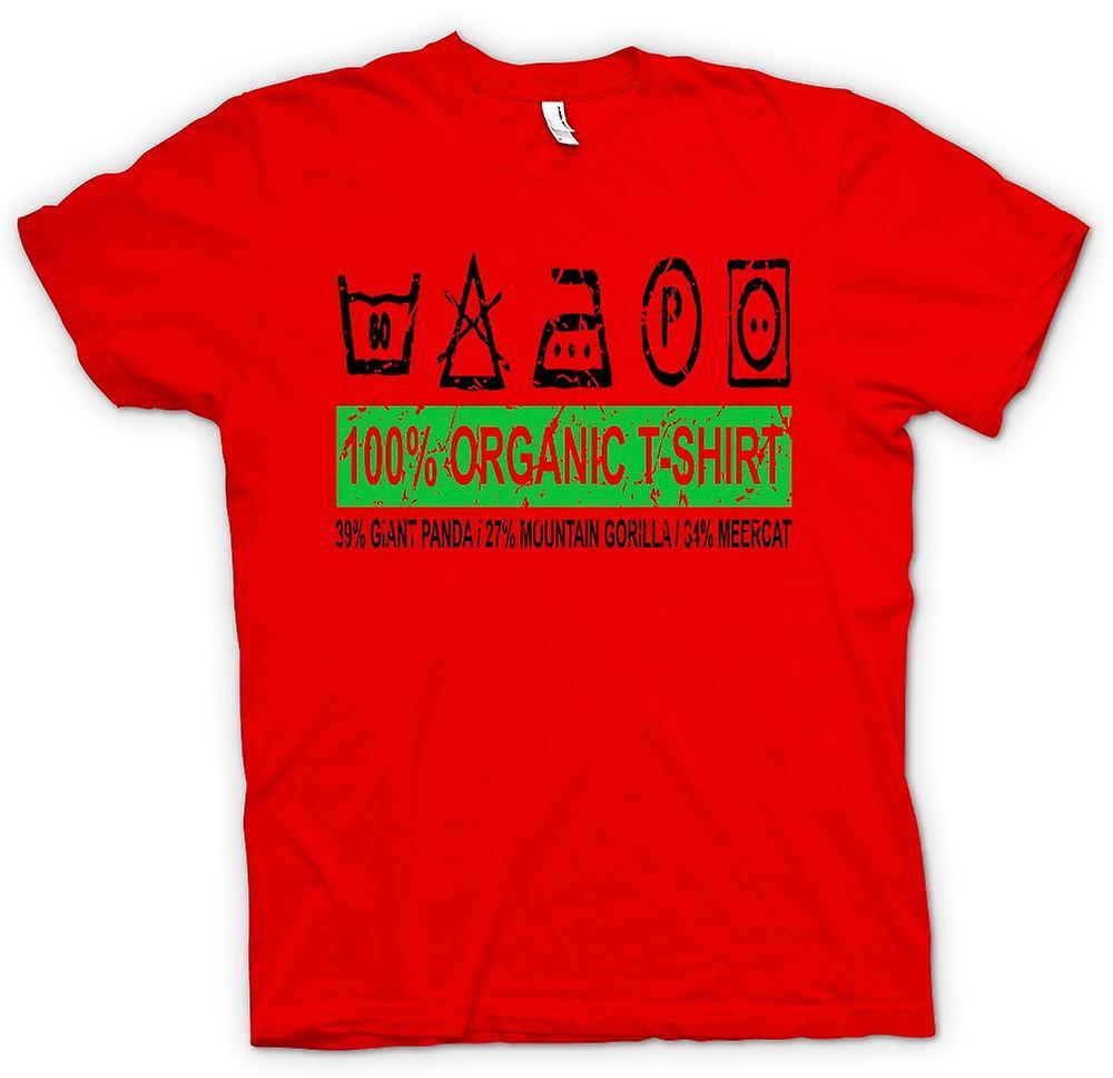 Mens T-shirt - 100 % Bio-T-Shirt - 39 % Giant Panda