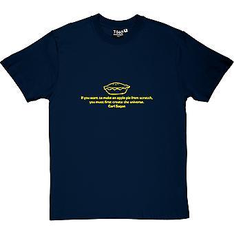 Carl Sagan Apple Pie Men's T-Shirt