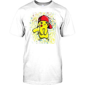 Pikachu Pop Art Design - Pokemon Inspired Kids T Shirt