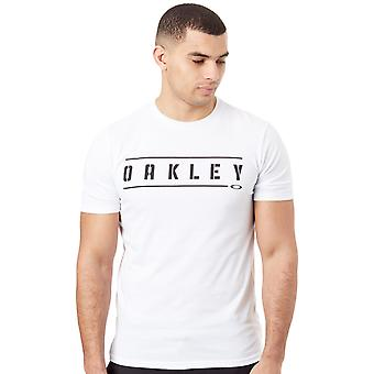 Oakley White O-Double Stack T-Shirt