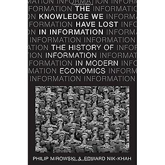 El conocimiento que hemos perdido en información