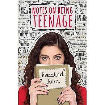 Anteckningar om att tonåriga