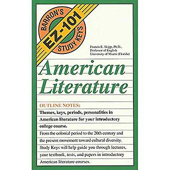 Amerikansk litteratur (Barron's EZ-101 studie nycklar)
