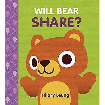 Will Bear Share? [Board book]