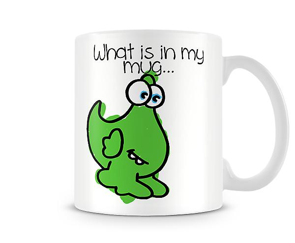 Decorative Writing What Is In My Mug... Printed Text Mug