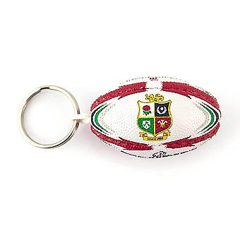 RHINO british lions replica rugby ball keyring