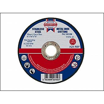 CUT OFF DISC FOR METAL 100 X 1.2 X 16MM