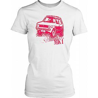 VW Golf Mk1 GTI - Classic Sports Hot Hatch Ladies T Shirt