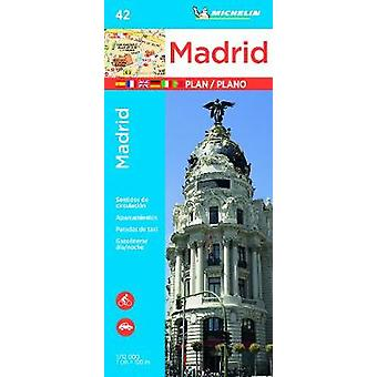 Michelin Madrid Map 42 - 9782067228337 Book