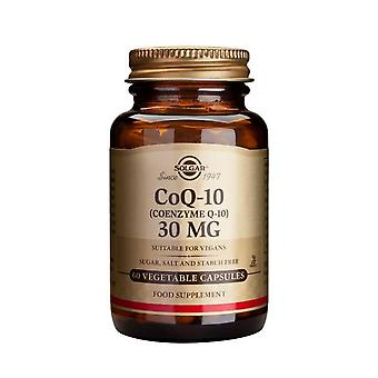 Solgar, Coenzyme Q-10 30 mg Vegetable Capsules , 60