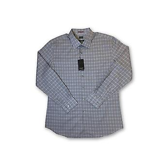 Paul Smith London slim fit shirt in blue/grey