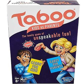 Taboo-Kids vs Eltern-Familienspiele