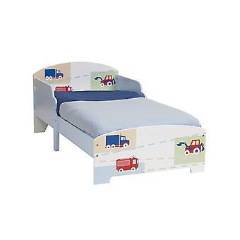 Boys Vehicle Junior MDF Toddler Bed