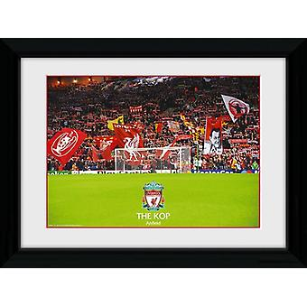 Liverpool The Kop Framed Collector Print 40x30cm