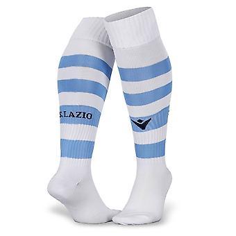 2019-2020 Lazio Home Macron Socks (White)