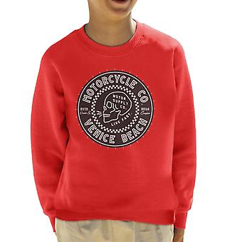 Divide & Conquer Venice Beach Motorcycle Co Kid's Sweatshirt