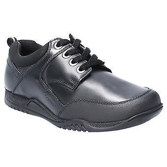 Hush Puppies Boys Dexter Junior Leather Lace Up School Shoes