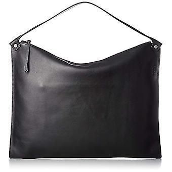 ECCO Sculptured Shoulder Bag - Donna Schwarz Shoulder Bags (Black) 2x33x45 cm (B x H T)